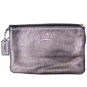 Coach Gold Wristlet Wallet